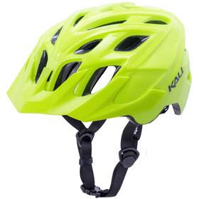 Kali Chakra Solo casco per bici giallo